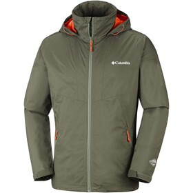Columbia Inner Limits Veste Homme, peatmoss/backcountry orange